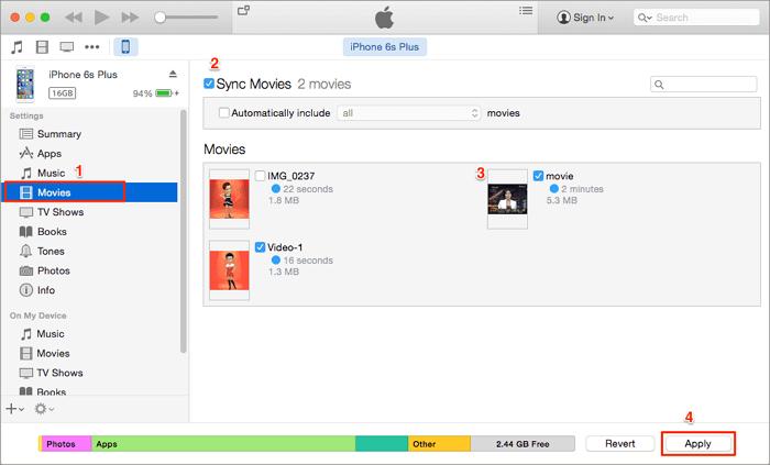 mac syncing process