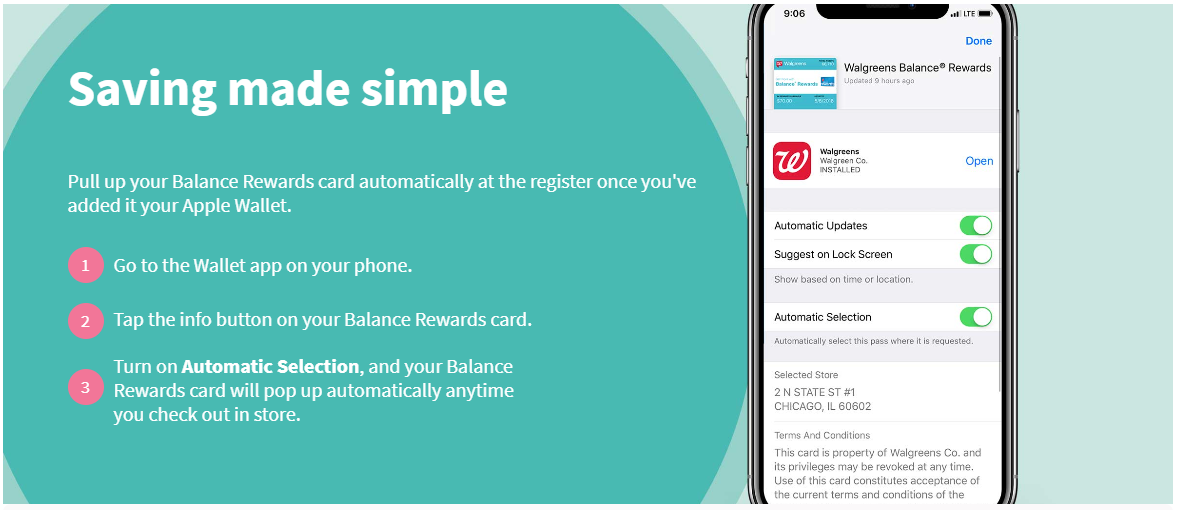 Walgreens and Apple Pay