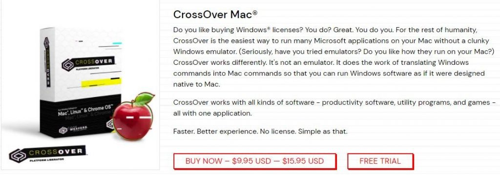 cross over mac
